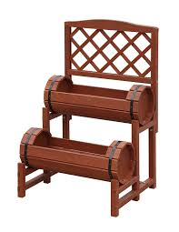 amazon com convenience concepts 2 tier plant stand chinese fir