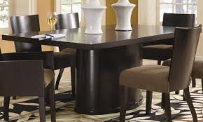 table unusual finest wood rectangular pedestal dining table