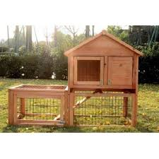 How To Build A Rabbit Hutch And Run Pawhut Rabbit Hutch With Outdoor Run U0026 Reviews Wayfair