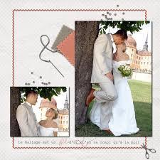 scrapbooking mariage modele scrap mariage