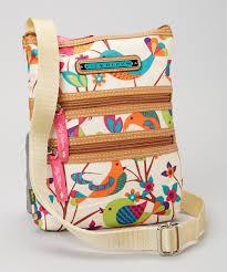 bloom purses bloom tweety twig mini multi section crossbody bag zulily