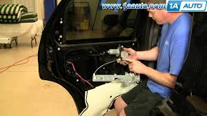 Ford Explorer Xlt Fuse Box Diagram How To Install Replace Rear Power Window Regulator Ford Escape