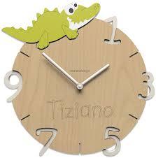 Pendule Murale Originale by Horloge Murale Enfant Crocodile