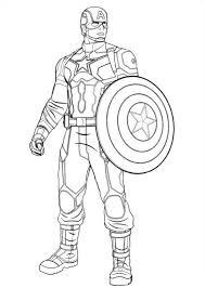captain america coloring pages civil war coloringstar