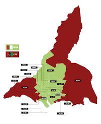 map of karachi karachi constituencies delimination