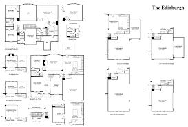 Windsor Castle Floor Plan by Edinburgh Castleberry Heights Georgia D R Horton