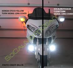 goldwing driving lights reviews honda gl1800 turn signal lens with switchback led bulbs