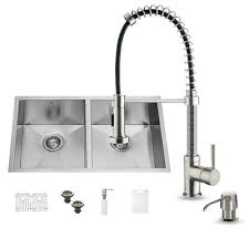 16 Gauge Kitchen Sink by Vigo 32 Inch Undermount Single Bowl 16 Gauge Stainless Steel