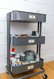 Sunnersta Utility Cart Organizing Craft Supplies With Ikea U0027s Raskog Utility Cart Little