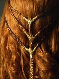 celtic warrior hair braids beautiful celtic braids pinteres