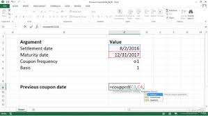 calculating the date of coupon due immediately before settlement