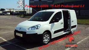 2013 peugeot partner 1 6hdi 75 625 professional l1 citywide van