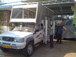 homemade 4x4 truck building a truck camper home away from home team bhp