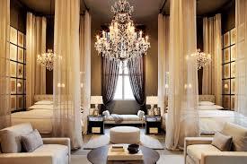 Bedroom Chandeliers Ideas Bedroom Nautical Chandelier Over Purple Bedding Design Idea For