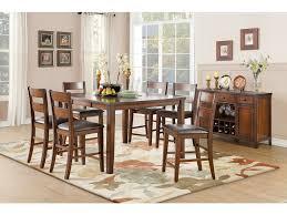 Homelegance Dining Room Furniture Homelegance Dining Room Counter Height Table Mango Veneer 5547 36