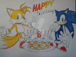 sonic and tails birthday card inside by ab angel on deviantart