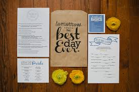 nick s creative wedding and rehearsal dinner invitations