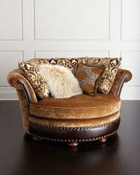 Swivel Cuddle Chair Double Sofa Bed And Large Round Swivel Cuddle Chair And Puffee