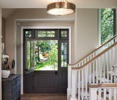 Transom Window Above Door Minneapolis Eclectic Front Doors Entry Traditional With Transom