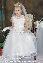 communion dresses nj communion dress satin with layered skirt christian expressions