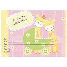 free baby shower invitation template badbrya com