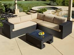 Where To Buy Outdoor Furniture Patio 52 L Shaped Patio Furniture With Cream Cushion Patio