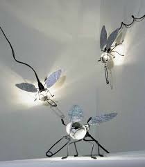 insect shaped lighting mademoiselle filou