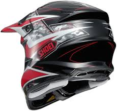 matte black motocross helmet 404 33 shoei vfx w turmoil dot approved motocross mx 995196