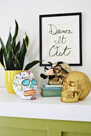 Ways To Decorate For Halloween 3 Ways To Decorate Halloween Skulls U2013 A Beautiful Mess