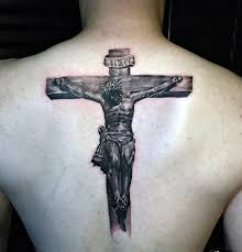 Jesus Cross Tattoos On - 40 jesus back designs for religious ink ideas