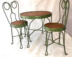 Wrought Iron Commercial Bistro Chair Bistro Set Etsy