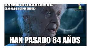 Racing Memes - tras el clásico llegaron los memes del triunfo de racing torneo