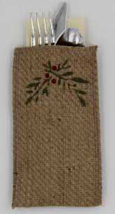 holly set of 8 burlap craft and holidays