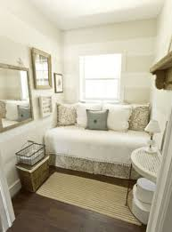 Guest Room Decor by Bedroom Small Bedroom Decor Idea With Cozy Bunk Bed Using White