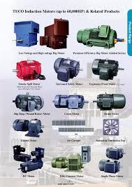 100 teco 3 phase induction motor ac motors three phase