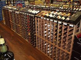 wine wednesday our commercial wine racks are now in hugo u0027s