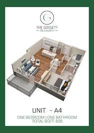 the gossett 3d 2d print