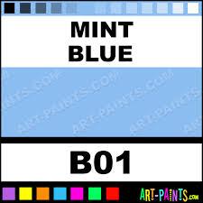 mint blue sketch paintmarker marking pen paints b01 mint blue