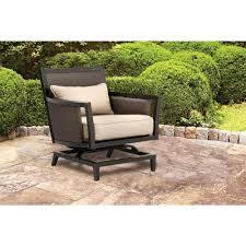 Patio Club Chair Brown Jordan Greystone Patio Motion Lounge Chair In Sparrow