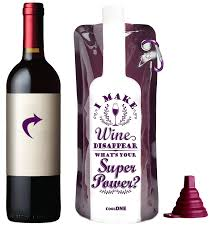 cool wine gifts take a wine wine gift foldable unbreakable wine