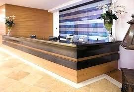 Wood Reception Desk Diy Reception Desk Desk Wooden Reception Desk Wood Salon