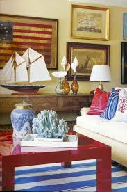 red white blue decorating ideas patriotic decor 4th of july red