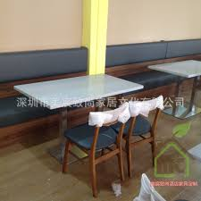 Coffe Shop Chairs Snack Bar Dining Table And Chairs Simple Dessert Shop Marble