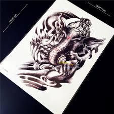 tattoos for men indian online get cheap men elephant tattoo 3d aliexpress com alibaba