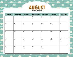 august 2017 calendar printable in pdf word excel template free