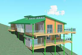 Pole Frame Houses - Slab home designs