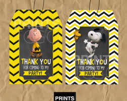 charlie brown party etsy