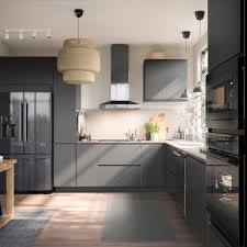 stainless steel kitchen cabinets ikea essentiell built in dishwasher black stainless steel ikea
