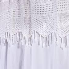 Shower Curtain Washing Machine Crochet Shower Curtain