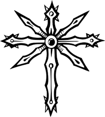 cross free vector clipart sample for vehicle graphics and tattoo